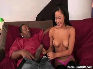 Jayla Starr banged by monster cock