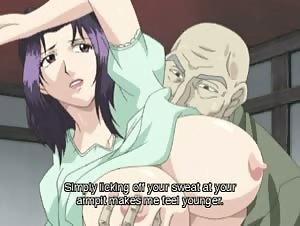 Hentai mistreated wife