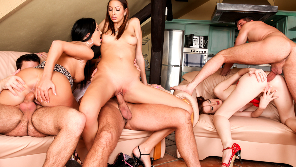 5 Incredible Orgies
