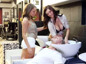 Beauty Salon Orgy
