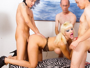 Gang Bang The Babysitter #14