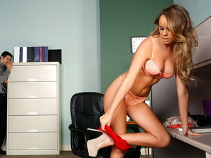 Alexis Adams - Naughty Office