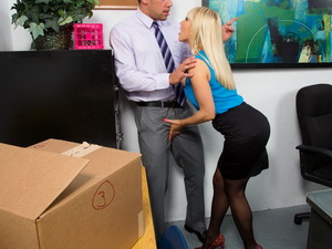 Ashley Fires - Naughty Office