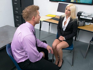 Jessie Volt - Naughty Office