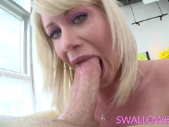 Sexy Cock Craving Riley Jenner throat fucked