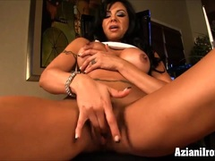 Sexy fit babes fingering their tight pussies